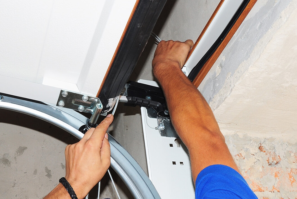 garage smooth doors repair installation